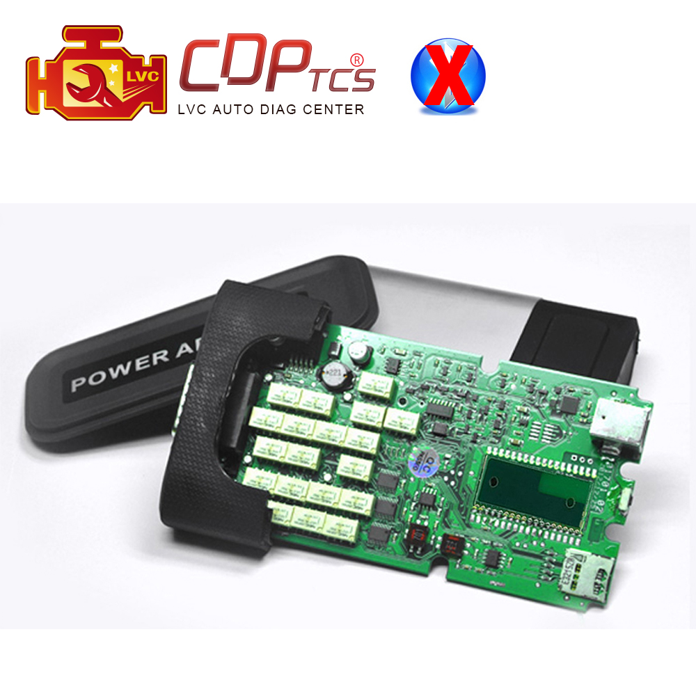 Prix pour Un + haute qualité Unique Vert PCB Conseil CDP TCS 2015.03/2014.02 keygen logiciel OBD2 voitures/camions De Diagnostic outil OBDII scanner