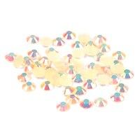 Оптовая продажа 2 мм-6 мм шампанское AB Смола Стразы Flatback Круглый грани Дизайн ногтей Бусины украшения DIY Craft Свадебные платья