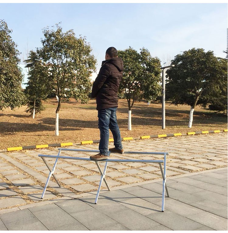 Portable Exhibition Folding Display : Out door furniture goods portable folding display stand adjustable