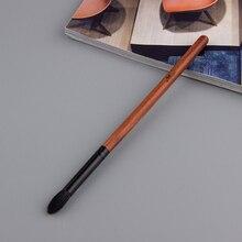 Anmor 1 PCS צלליות מברשת באיכות גבוהה טבעי עיזים שיער Tapered Blending מברשת מקצועי איפור מברשות שחור צבע