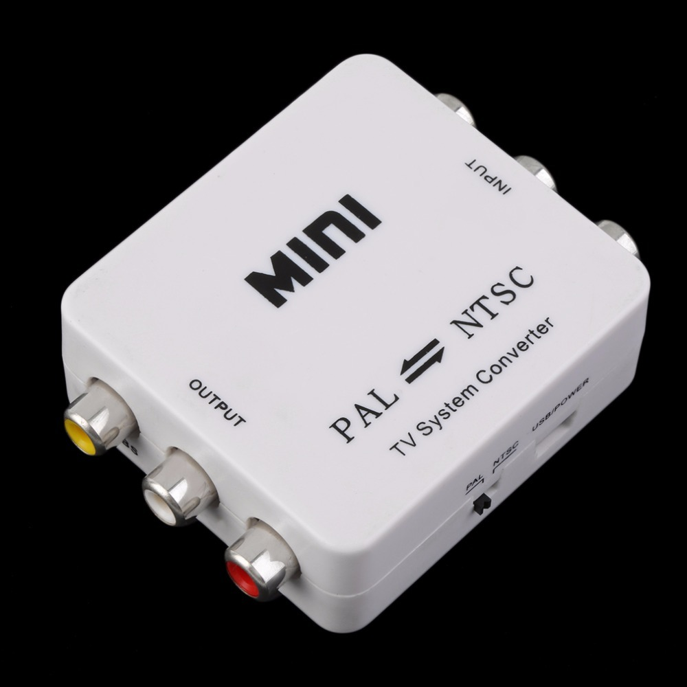 TV Video System Converter PAL NTSC SECAM To NTSC PAL Switcher Adapter Male-Female Unshielded Application IN Multimedia