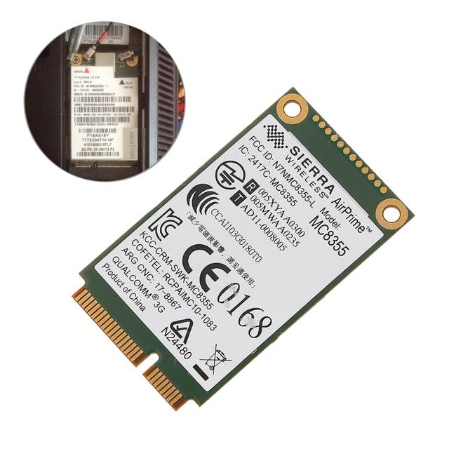 US $5 86 14% OFF|60Y3257 Gobi3000 MC8355 3G WWAN Card GPS For Lenovo  Thinkpad W530 X230 T420 X220-in Network Cards from Computer & Office on