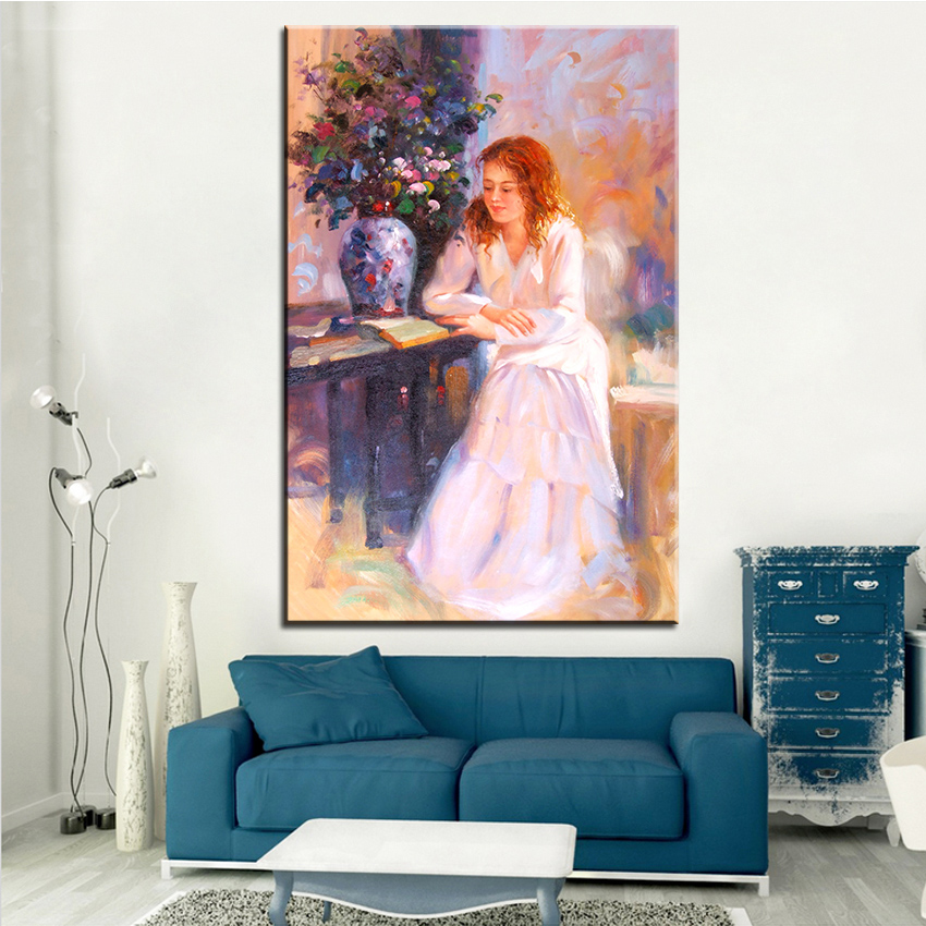 Large Sizes NO 484 Classic Portrait Wall Paper Canvas For Wall Art  Decoration Oil Painting Wall Painting Picture No Framed
