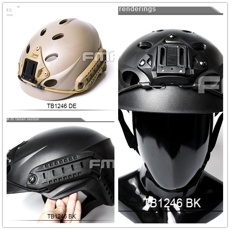 Military Wargame Special Force Recon Tactical Helmet ABS Material For Airsoft Paintball Combat And Cycling Bicycl Safety & Survi цена и фото