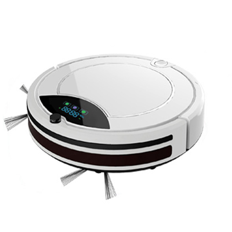 Intelligent Vacuum Robot Cleaner Smart Floor Cleaning Machine with Remote Control Vacuum Cleaner Robot цена и фото