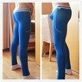 Los Hombres de ropa deportiva de Alta Stretch Pantalones Apretados de Los Hombres pantalones Largos Pantalones Legging Sexy pantalones de Chándal de Los Hombres