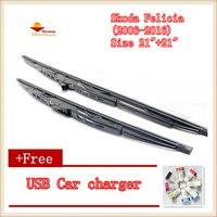 2pcs Lot Car Windscreen Wipers Blades U Type Universal For Skoda Yeti 2013 2015 Size 24