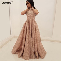 2018 New Arrival Special Fabric A line Prom Dresses Long With Sashes Pleat Dubai Abaya Muslim Women Evening Dresses