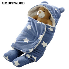 New Baby Infant Winter Sleeping Bags as Envelope for Newborn Cocoon Wrap Sleepsack,Sleeping Bag Baby as Blanket & Swaddling