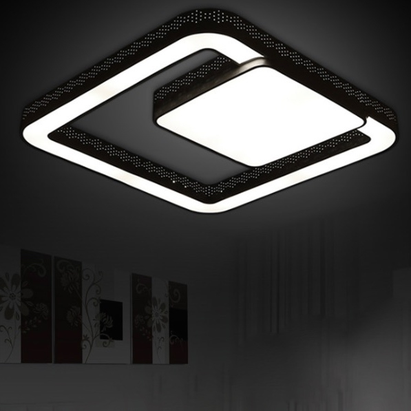 modern dimmable ceiling lights design living room led light modern bedroom lights led square. Black Bedroom Furniture Sets. Home Design Ideas