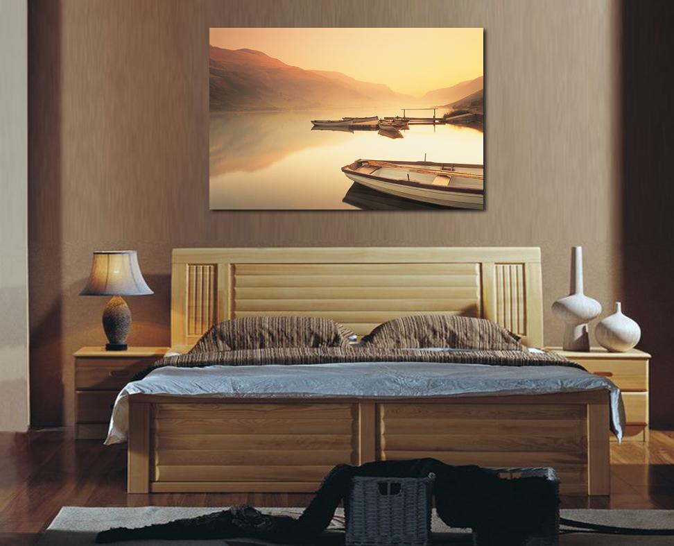 decoracion lienzo de pintura un pedazo de la lona arte de la pared decoracin dormitorio cabecera