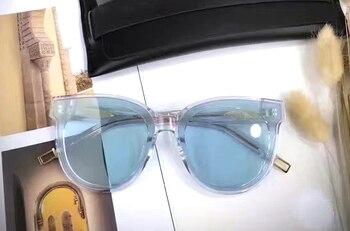 Gentle FLATBA Designer ladies sunglasses Multicolor Mirror In Scarlet sun glasses Vintage Female oculos sunglasses for women 10