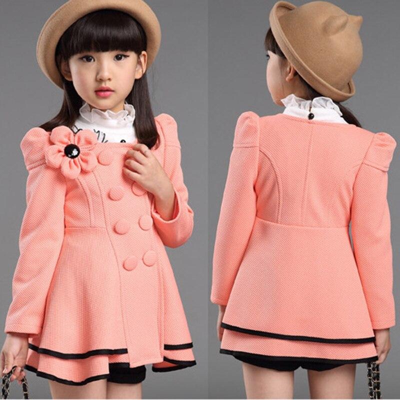 Girls Coat / Children Coat Girls 2015 Fashion Girls Jackets And ...