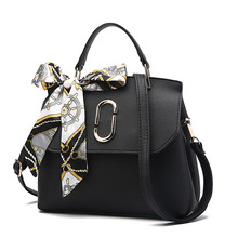 2017 Summer Handbags Fashion Leisure Tote Bag Korean Simple Style Single Shoulder Bag Flap Bags With Bow Decration