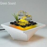 Керамика фонтан течет вода рабочего Фонтан Воды Бытовые аксессуары творческий фонтан мебели