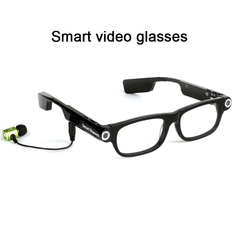 NOUVEAU 720 p Multi-fonction smart bluetooth lunettes Hd vidéo caméra prend des photos vidéo lunettes Intégré bluetoot pour Mobile téléphone