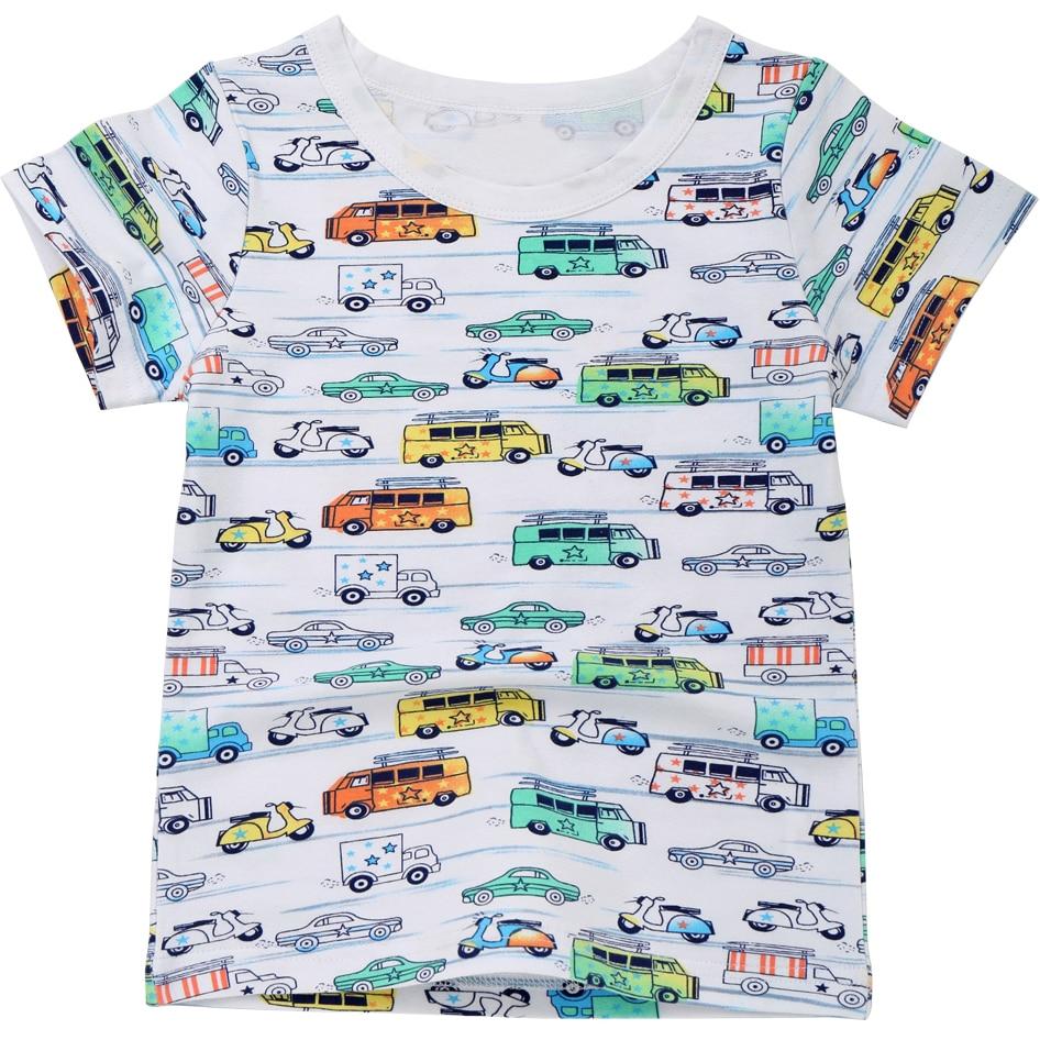 New Boys T Shirts Cartoon Kids Clothes 2018 Girls T Shirt Summer Tops Children T-shirts With Short Sleeve Toddler Tshirt MF001