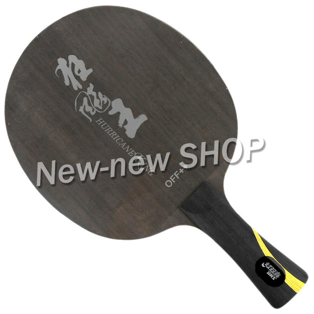 DHS Hurricane King Настольный теннис PingPong Blade OFF + +