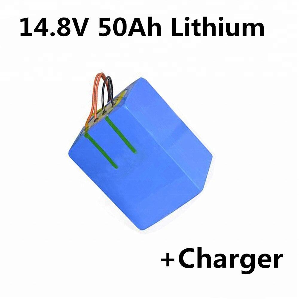 14,8 V 50ah Lithium-batterie Pack Für Led Licht Medizinische Gerät Solar Straße Licht E-roller Power Werkzeuge Elektrischen Sah Rasenmäher