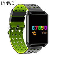 LYNWO M7 0 95 Inch Smart Watch OLED Color Screen Blood Oxygen Pressure Heart Rate Monitor