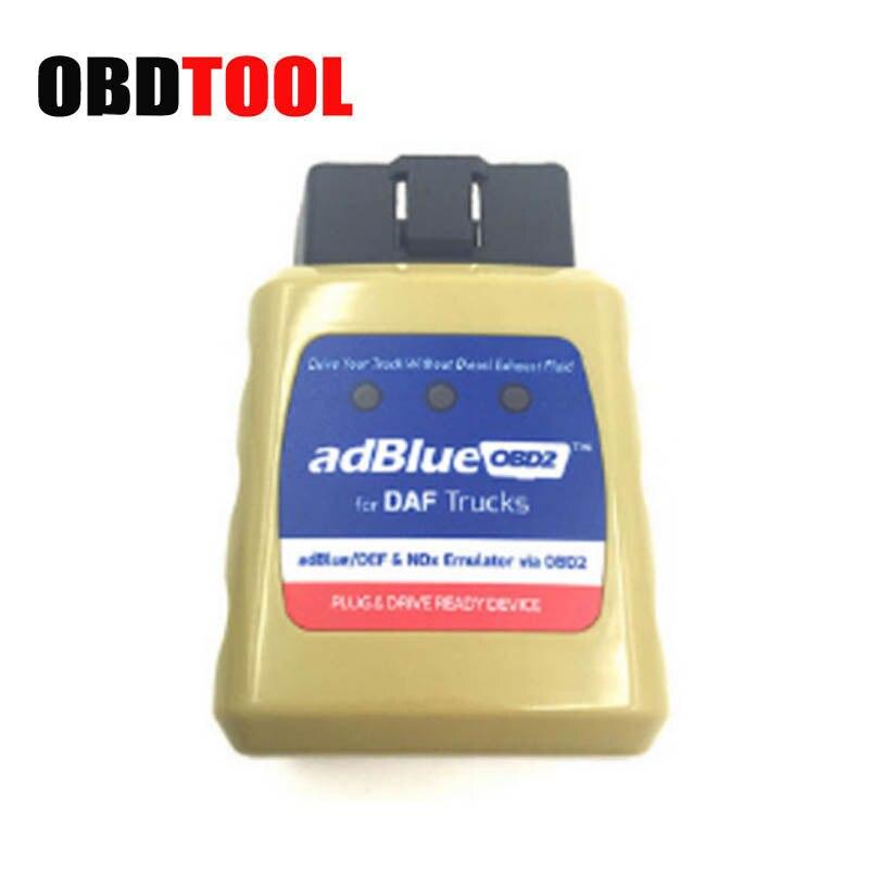 Neue AdblueOBD2 Emulator für DAF Lkw Stecker und Stick Bereit Gerät durch OBD2 Adblue OBD2 Emulator Diagnosewerkzeug
