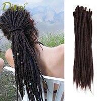 10 Stand Synthetic African Hairstyle Dreadlocks Hair Crochet Braids Marley Hair Kanekalon Crochet Braiding Hair DIFEI