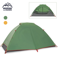 Backpack Tent Camping Travel Double Layer Tent Camping Outdoor Tent Travel 2 Persons