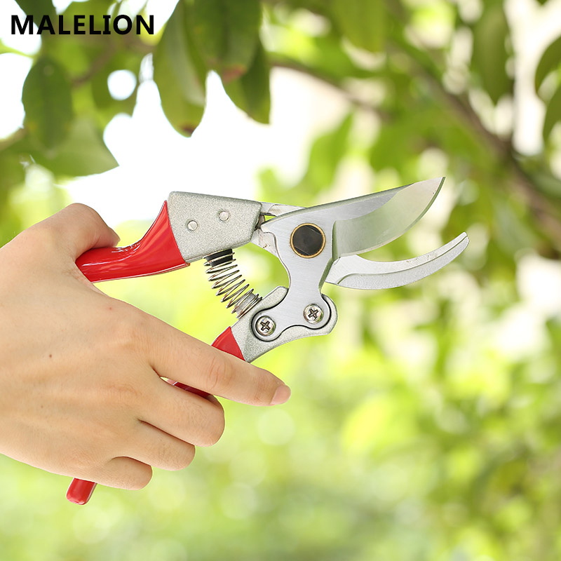 City Garden Scissors Gardening Shears Pruning Gardening Tools Home Pruning Shears Thick Branches Fruit Tree Scissors Bonsai Tool 8 200mm garden scissors elbow blade fruiting branches garden gardening scissors hand tools rasp dremel 2016