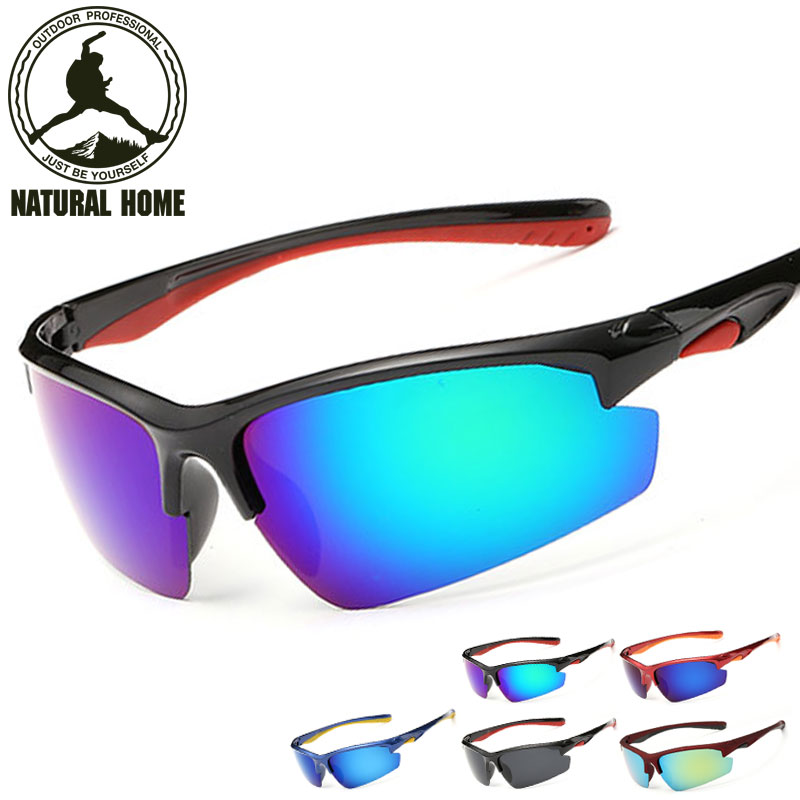 Prix pour NaturalHome Coupe-Vent Cyclisme Lunettes Polarisées lunettes de Soleil Hommes Sport Unisexe Vélo Lunettes Lunettes Gafas Ciclismo