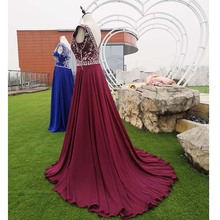 Crystal Beading Prom Dresses