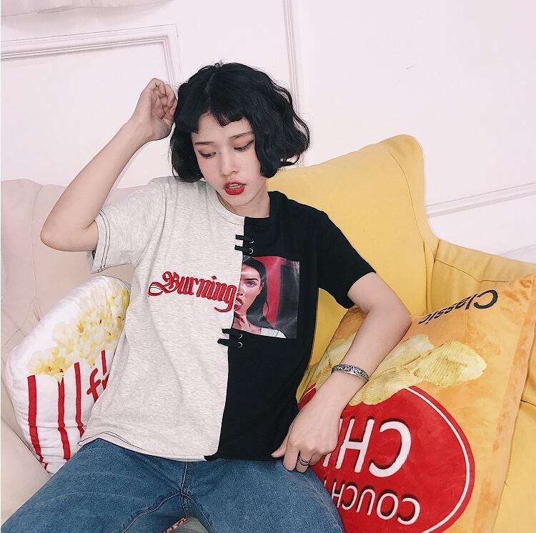 HTB1ZqtaQVXXXXbCXVXXq6xXFXXX5 - Red/Black Burning Passion T shirt PTC 121