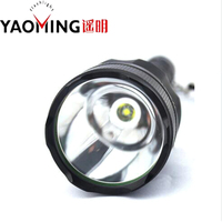 E17 10W CREE XML T6 LED Flashlight 3800lumen High Power Led Torch Long Range For 2pcs