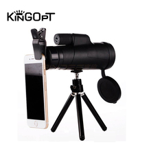 KINGOPT 10x42 Handheld Monoculars HD Wide-angle Lll Night Vision Monocular Telescopes Outdoor Hiking Camping Bird-watching Tools