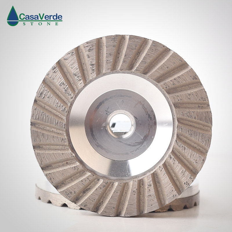 Free shipping coarse# diamond turbo aluminum body cup wheels 4 inch M14 or 5/8-11 thread for grinding concrete and stone free shipping coarse medium fine grit 4 inch diamond turbo cup wheels m14 thread for grinding concrete and stone 3pcs set