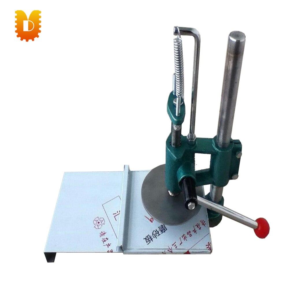 UDYB-200 Fácil operar tamanho pequeno manual da máquina da imprensa de massa/massa de pizza máquina da imprensa