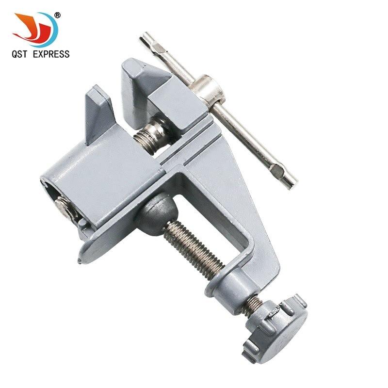 Hohe qualität Mini Tabelle Vice Aluminiumlegierung Bank Schraube Schraubstock für DIY Schmuck Handwerk mould Fest Repair Tool Freeshipping