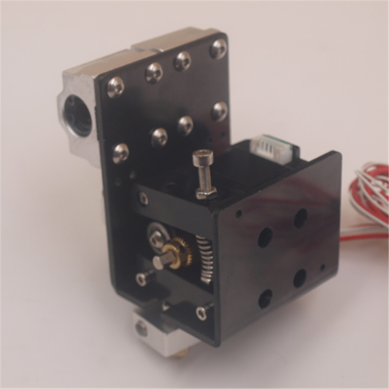 Blurolls Reprap Prusa i3 Anet A8 3D printer extruder kit single 0.4mm nozzle head extrusion head 1.75mm hotend