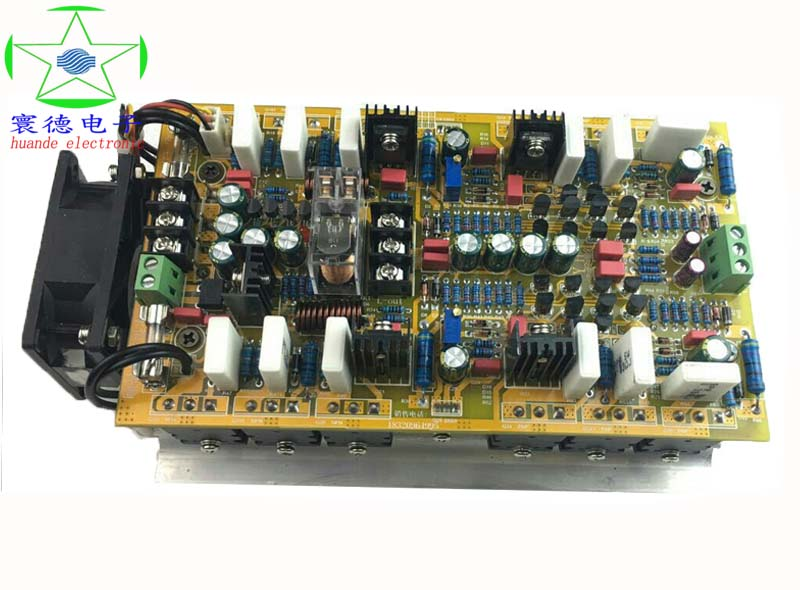 yh266 HiFi enthusiast amplifier board 2.0 dual-channel high-fidelity power amplifier board finished 4 1 channel lm4780 amplifier finished board ac 24v 28v 4x68w 130w subwoofer