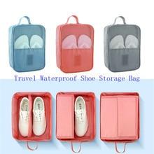 Almacenamiento de zapatos de viaje portátil Tote bolsa de ventilación Zip Bag organizador 29 13 22c bolsa de clasificación de ropa interior del hogar