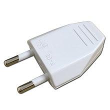 European EU Rewireable Power Plug White Color,16A 250V,50 pcs
