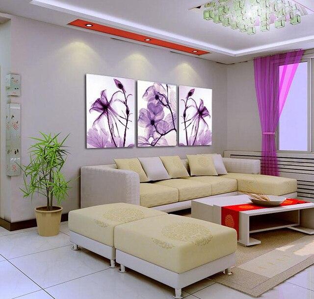 behang paars orchideen geur tulle woonkamer slaapkamer schilderijen triple kracht aanbevolen een schoonheidssalon gratis levering