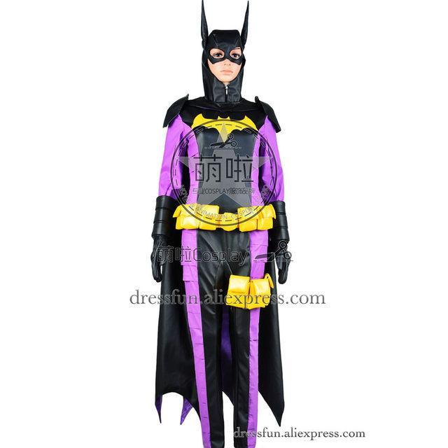 Batgirl Cosplay Stephanie Brown Spoiler The Fourth Robin Third Supergirl Costume Outfits Halloween Fashion Party Fast  sc 1 st  AliExpress.com & Batgirl Cosplay Stephanie Brown Spoiler The Fourth Robin Third ...