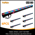 (6PCS) LED Wall Washer LED Light Bar Led Flood Light 2l6Pcs RGB Color DMX Free Shipping