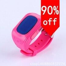 Mit 3 farben Smart Kinder Kid Armbanduhr GSM GPS Locator Tracker Anti-verlorene Smartwatch Kind Schutz für iOS Android