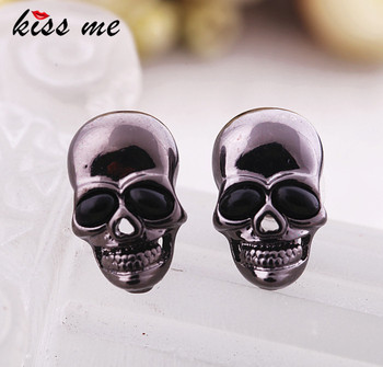 kissme Halloween Jewelry Fashion Accessories Punk Skull stud earring general Factory Wholesale image