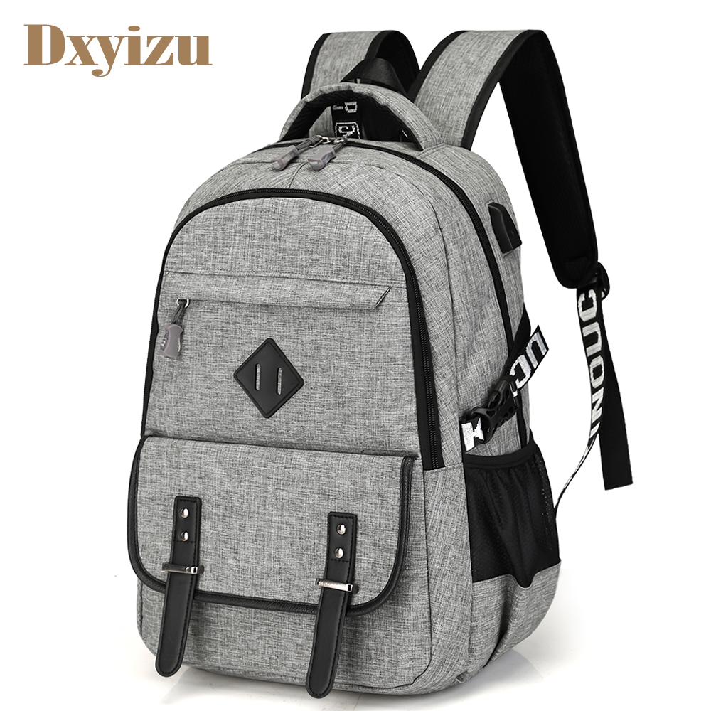 Preppy Style USB Charge Backpack Oxford Men School Bags Teenager boys Laptop Bag Travel Large Capacity College Student Backpacks 8848 brand women backpack preppy style 2017 spring new school student bag backpacks knapsack female 15 6 laptop 173 002 013