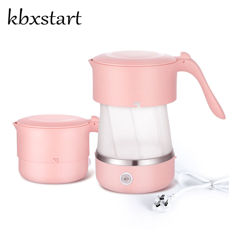 Kbxstart Silicone Foldable Kettle Hot Water Boiler for Travel Mini Kettle Electric Health Pot 110V 220V Hervidor De Agua ElectriKbxstart Silicone Foldable Kettle Hot Water Boiler for Travel Mini Kettle Electric Health Pot 110V 220V Hervidor De Agua Electri
