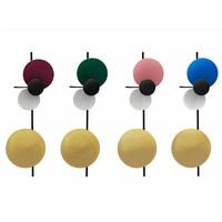 Nordic Современные Простые Творческий бра Красочные Круглый диск настенный свет коридор детская комната украшения светодиодный настенный св
