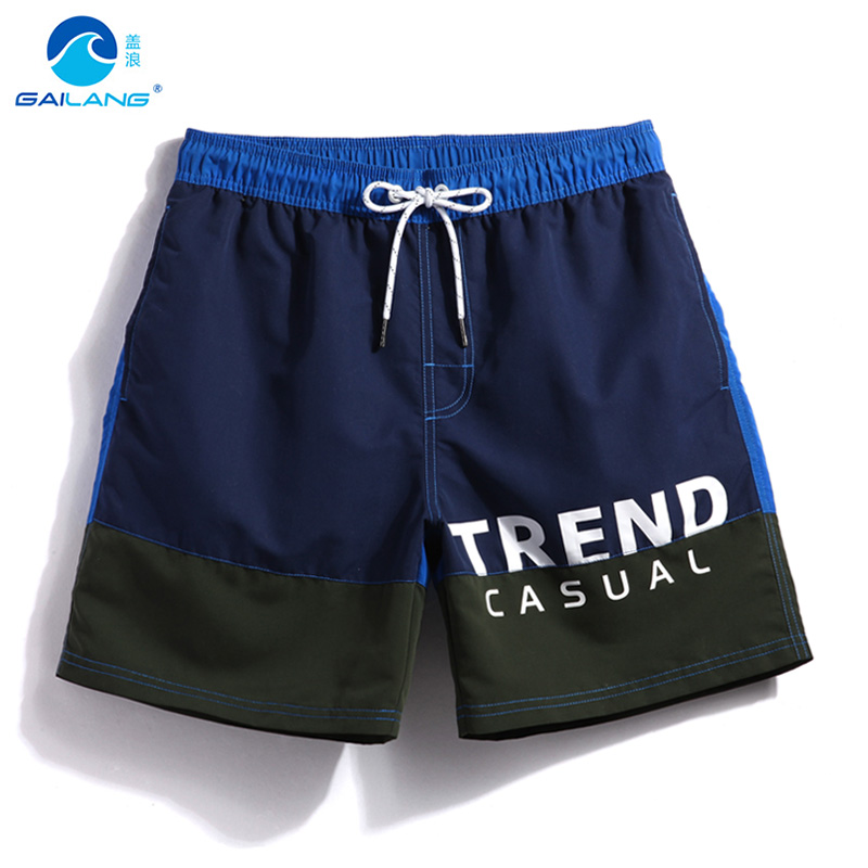 Gailang Brand Beach   Shorts   Men Surf   Board     Shorts   For Men Mesh Fabrice Men's Swimming Suit Swimwear   Shorts   Swimsuit GMA1125