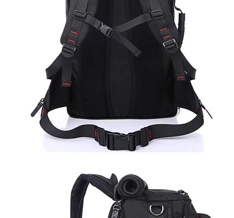 KAKA Men Backpack Travel Bag Large Capacity Versatile Utility Mountaineering Multifunctional Waterproof Backpack Luggage Bag 6